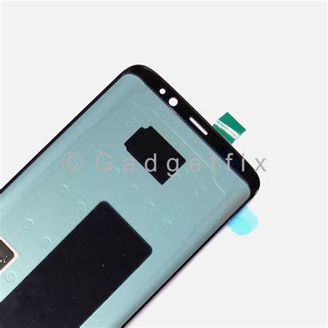 Lcd Samsung S8 Plus Kaca Retak A Stock us samsung galaxy s8 g950a g950t g950v g950p lcd screen