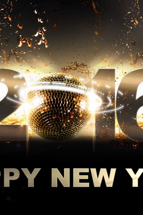 happy new year iphone wallpaper 2016 happy new year iphone 4 4s ipod wallpaper