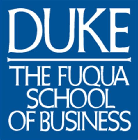 Duke Mba Program fuqua school of business
