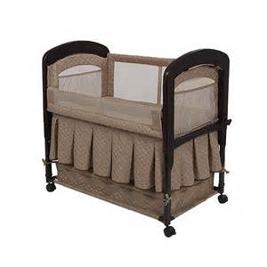 cambria co sleeper baby bassinet with storage space by
