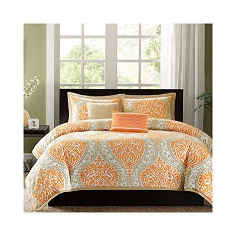Where To Buy Duvet Sets Intelligent Design Senna Duvet Cover Set Orange King