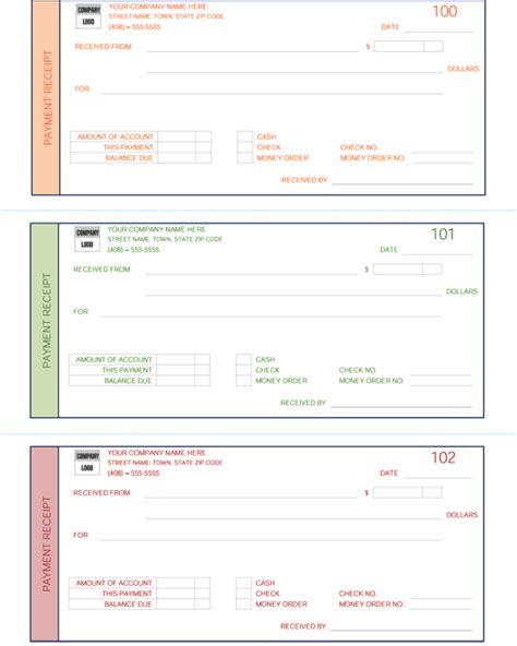 Payment Receipt Template 5 Quick Receipt Maker Formats Pay Template