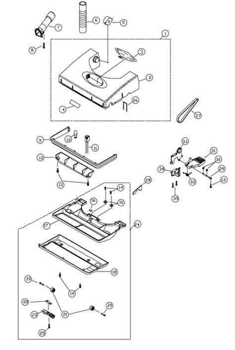 riccar vacuum parts diagram riccar r800 parts vacuum repair diagrams