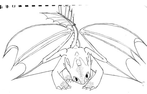 coloring pages of toothless dragon toothless wip by shiila on deviantart