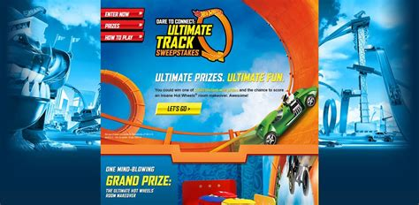 Sweepstakes Legal Requirements - hotwheels com wintrack hot wheels dare to connect ultimate track sweepstakes