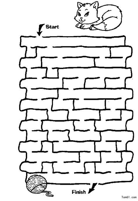 迷宫图片 简笔画图片 少儿图库 中国儿童资源网