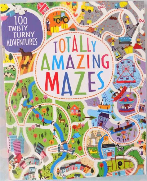 amazing mazes puzzle book 2 maze books for adults selena madhouse family reviews children s book review totally