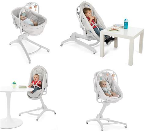 chicco reclining high chair chicco baby hug 4 in 1 glacial bassinet reclining high