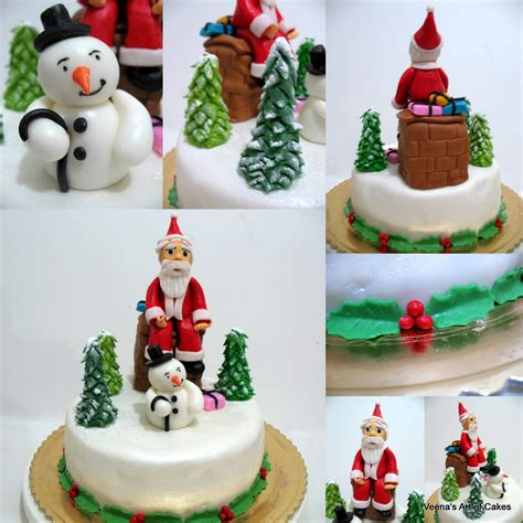 how to make a christmas cake veena azmanov