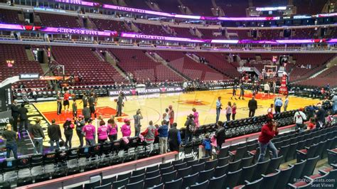 section 111 united center lower level center united center basketball seating