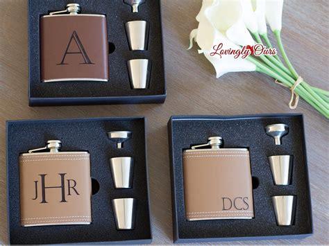 gifts for groomsmen groomsmen gift personalized groomsmen flask leather hip