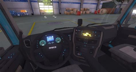 Interior Dash Lights by Iveco Hi Way Interior New Dashboard Lights Modhub Us