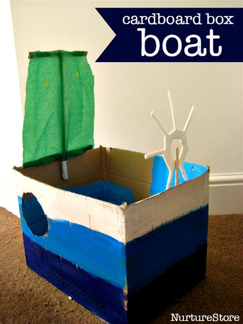 how to make a boat model be a sailor make a boat we learn through play