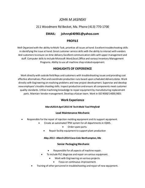 J D Resume by Johns Resume 2015