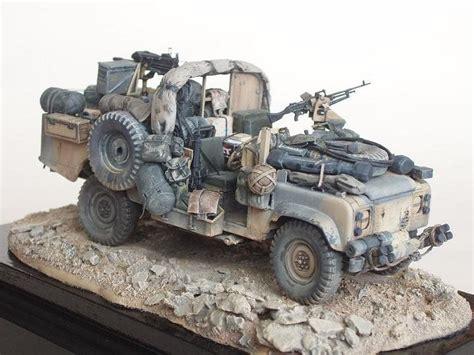 sas land rover sas 110 land rover scale model dioramas pinterest