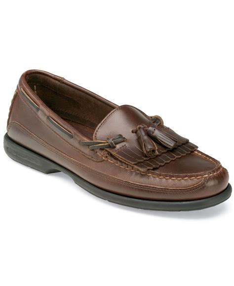 mens loafers tassels sperry top sider s tremont kiltie tassel loafers in