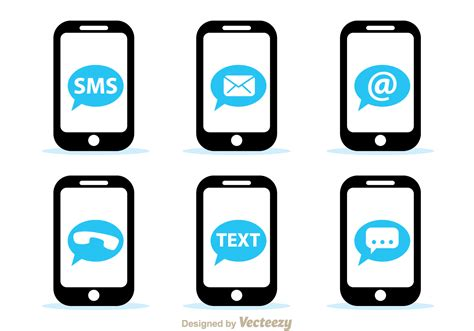 network mobile mobile network icons free vector stock