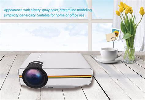 Gambar Dan Proyektor Mini proyektor mini lcd 800 x 480 pixel 1200 lumens yg400 white jakartanotebook