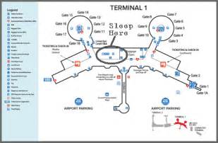San Diego Airport Map by Las Vegas Airport Map Terminal 1 Images Frompo 1