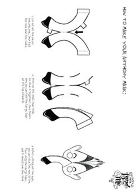 anteater mask template printable 1000 images about printables on pinterest the land