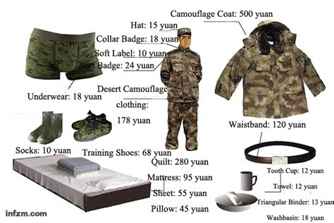 how much does a trained protection cost how much does pla soldier s individual equipment cost