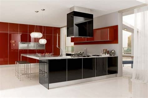 red and black kitchen cabinets red kitchen cabinets ikea home designs project