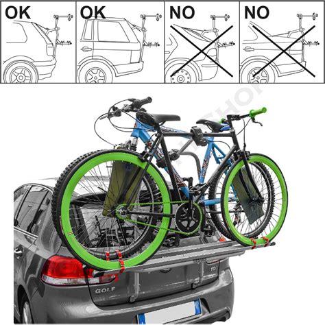 Fahrradträger Auto 3 Fahrräder by Logic 3 Von Menabo Fahrradtr 228 Ger Heckklappe F 252 R 3