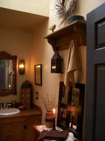 primitive decorating ideas for bathroom 76 best images about bathroom on country