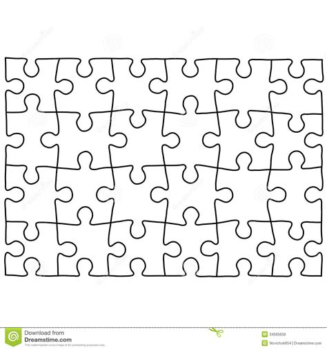 Jigsaw Puzzle Design Template Free Puzzle Templates 1300 Jigsaw Puzzle Design Template
