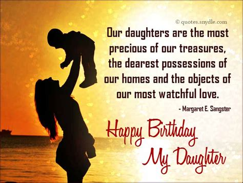 Birthday Quotes From Mothers To Daughters Birthday Quotes For Daughter Quotes And Sayings