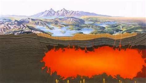d馭inition de chambre magmatique yellowstone 224 quand l 233 ruption du supervolcan