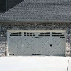 carriage style garage doors for the home