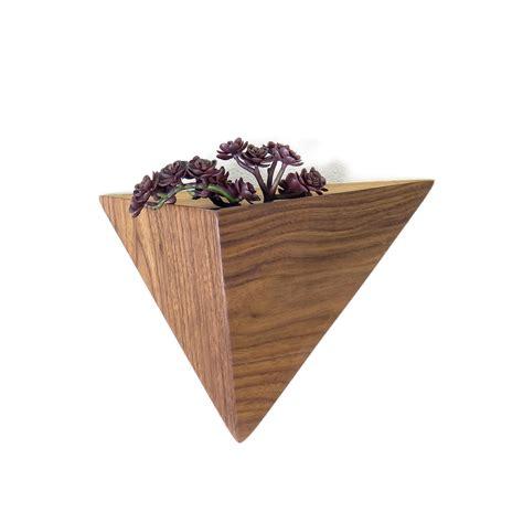 Triangular Planter by Geometric Planter Box Triangular Indoor From Fernweh