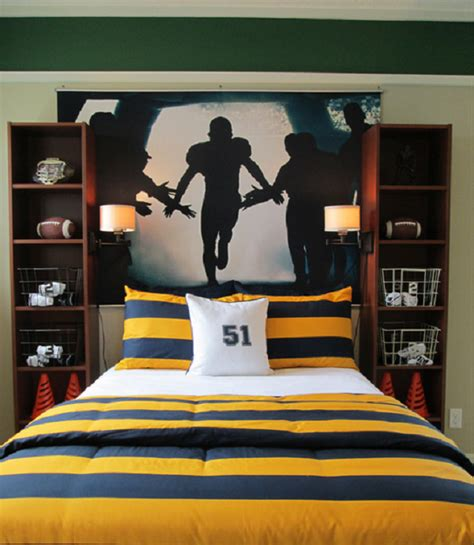 boy bedroom ideas sports boys and cars room bedrooms and football rooms