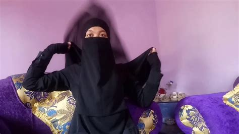 Khimar Simple simple khimar and niqab in 2 style with eye veil by me