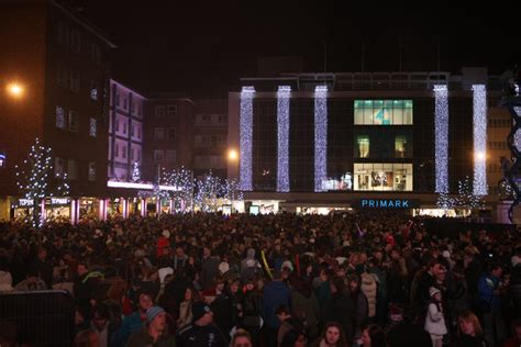the historic coventry forum christmas lights in coventry