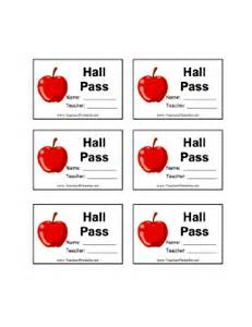 Bathroom Passes Pdf by Free Printable Hall Pass Images Amp Pictures Becuo