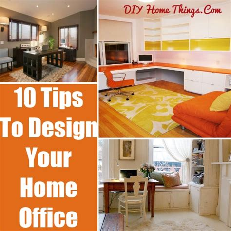 10 tips for designing your home office hgtv 10 tips for designing your home office diy home things