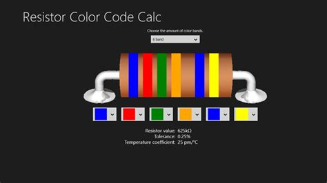 resistor color code apps resistor color code calc app ranking and store data app