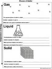 phases of matter printout enchantedlearning com