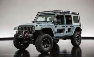 Jeep Jeep Jeep Customizes A Pair Of Wranglers For Moab News Car