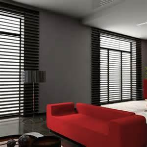 Sheen black black venetian blinds