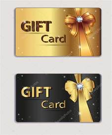 business gift card gift coupon gift card discount card business card gold and black bow ribbon