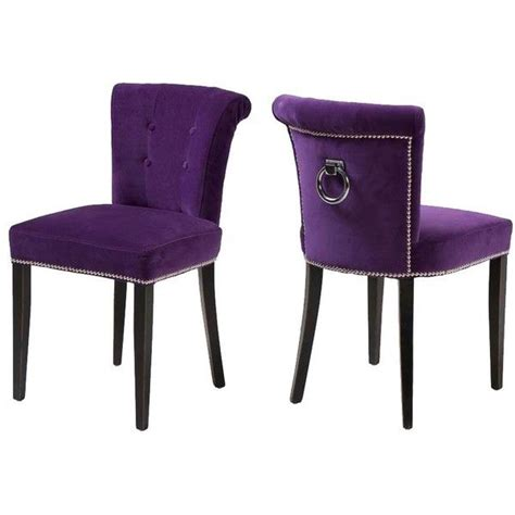 purple dining chairs 17 best images about dining chairs on pinterest purple