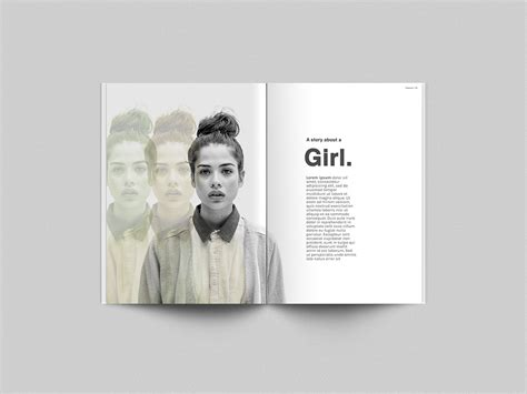 photoshop magazine template free magazine mockup template photoshop psd