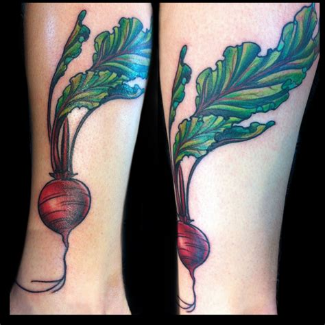 vegetable tattoos beet nature vegetables instagram jessi lawson