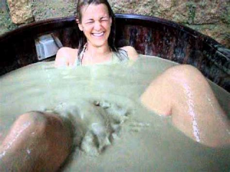 rachel farting in mud bath youtube