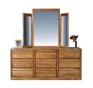 oak 9 drawer dresser sorry wing mirror not