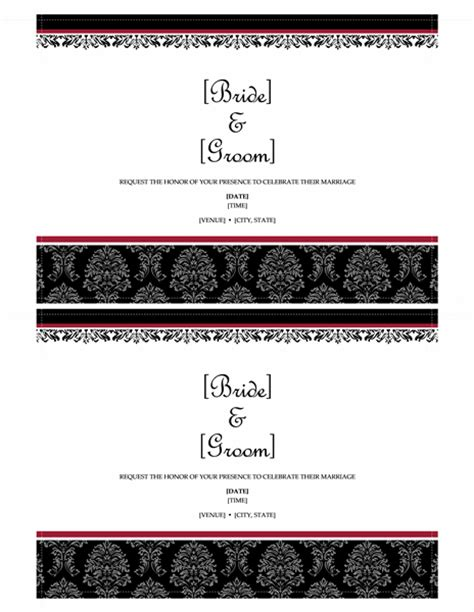 microsoft word 2013 templates microsoft word 2013 wedding invitation templates