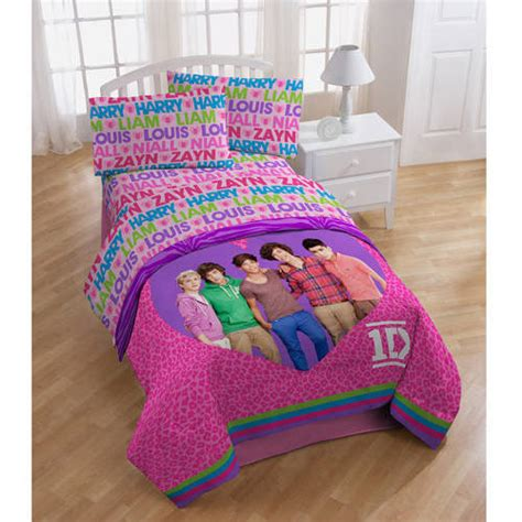 one direction bedding one direction bedding sheet set walmart com
